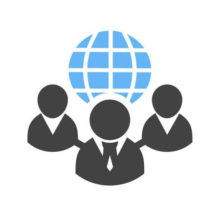 Web クライアント サーバー、クライアント、グローブ、web アイコン ベクトル画像。通信、接続、技術にも使用できます。Web アプリ、携帯アプリ、印刷メディアに適しています。 写真素材 - 38903418