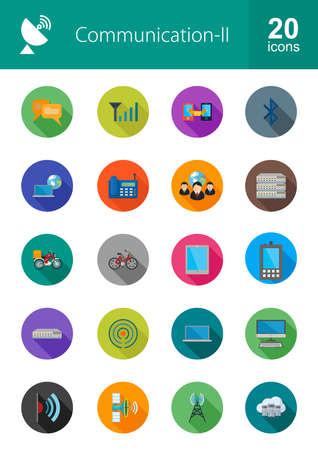 tecnologia comunicacion: Imagen del icono del vector tecnolog�a de la comunicaci�n. Tambi�n puede utilizarse para medios de comunicaci�n, red, conexi�n. Adecuado para aplicaciones web, aplicaciones m�viles y los medios impresos.