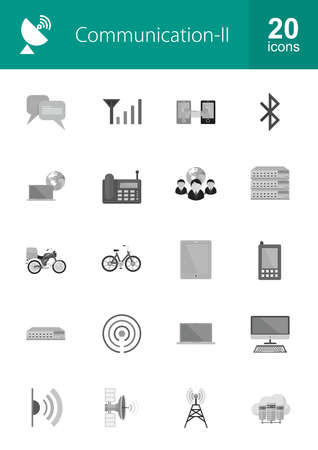 network switch: Communication technology icon vector image. Can also be used for media, network, connection. Suitable for web apps, mobile apps and print media. Illustration