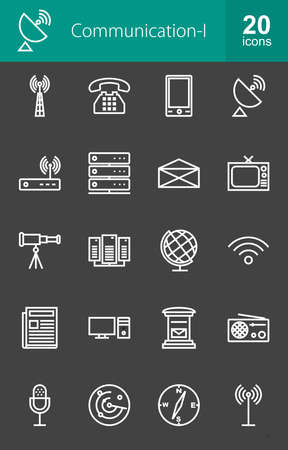 tv tower: Communication technology icon vector image. Can also be used for media, network, connection. Suitable for web apps, mobile apps and print media. Illustration