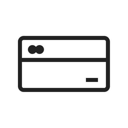 valid: Card, credit, payment icon vector image. Can also be used for banking, finance, business. Suitable for web apps, mobile apps and print media.