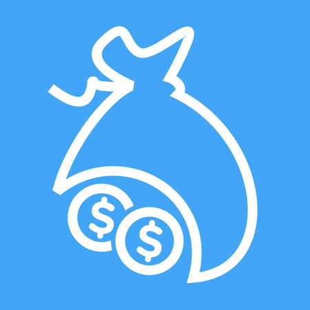 stealth: Money, bag, sack, cash icon vector image. Can also be used for banking, finance, business. Suitable for web apps, mobile apps and print media. Illustration