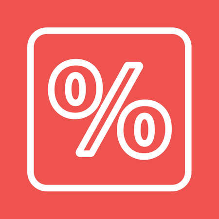 fraction: Percentage, portion, fraction icon vector image. Can also be used for banking, finance, business. Suitable for web apps, mobile apps and print media.