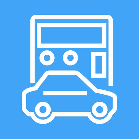 Car, vehicle, calculation icon vector image. Can also be used for banking, finance, business. Suitable for web apps, mobile apps and print media.