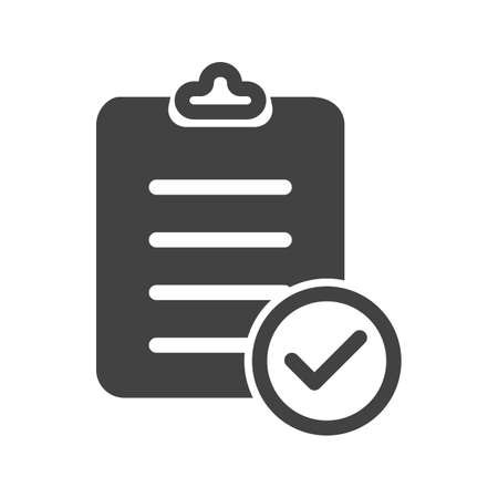 checklist: Checklist, items, clipboard icon vector image. Can also be used for banking, finance, business. Suitable for web apps, mobile apps and print media.