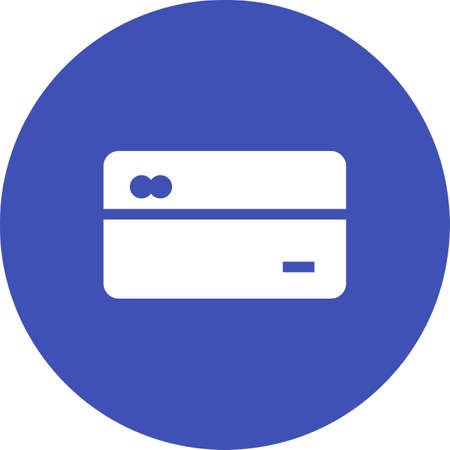 bank activities: Card, credit, payment icon vector image. Can also be used for banking, finance, business. Suitable for web apps, mobile apps and print media.