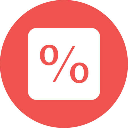 portion: Percentage, portion, fraction icon vector image. Can also be used for banking, finance, business. Suitable for web apps, mobile apps and print media.