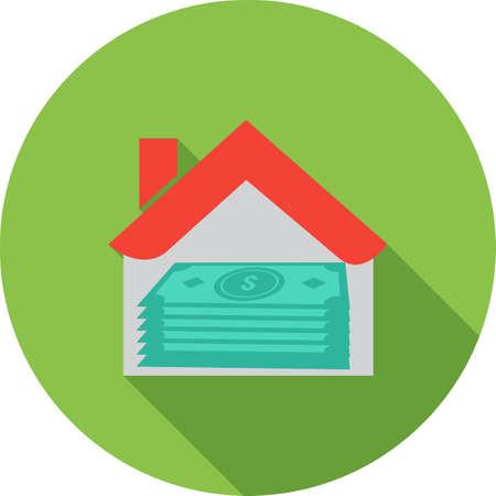 Maison prêt icône