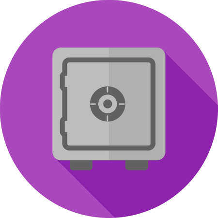 Lock, vault, safe, locker icon vector image. Can also be used for banking, finance, business. Suitable for web apps, mobile apps and print media.