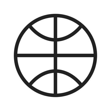 basket ball icon Illustration