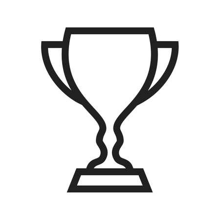 Cup trofee icon Stock Illustratie