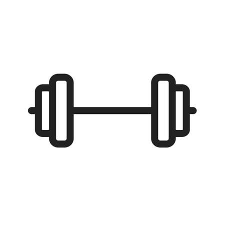 levantamiento de pesas: icono de levantamiento de pesas