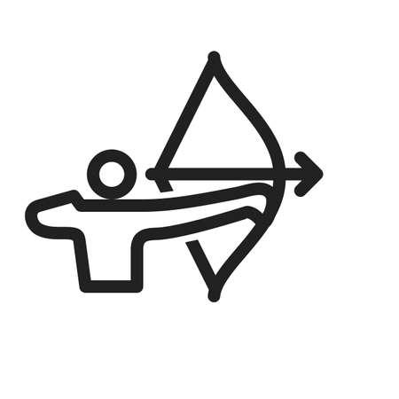 archer: Archer icon Illustration