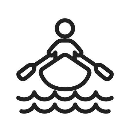 rowing boat icon