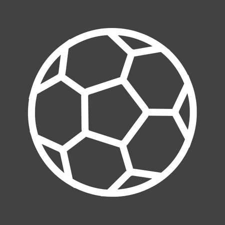 サッカーのアイコン  イラスト・ベクター素材