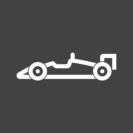 racing car: racing car icon