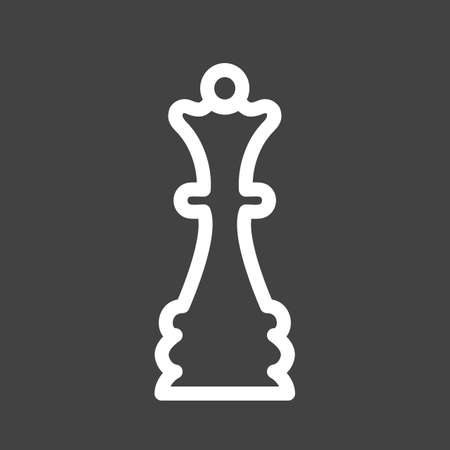 chess piece: Pawn, chess piece, chess, game, chess board icon vector image. Can also be used for sports, fitness, recreation. Suitable for web apps, mobile apps and print media.