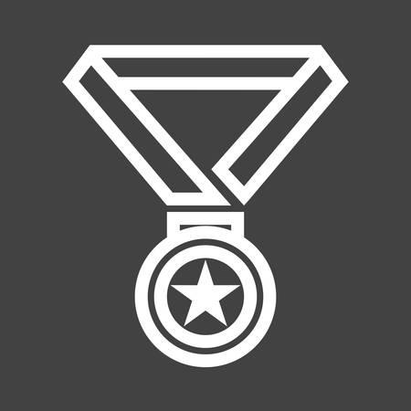 Medal icon Illusztráció