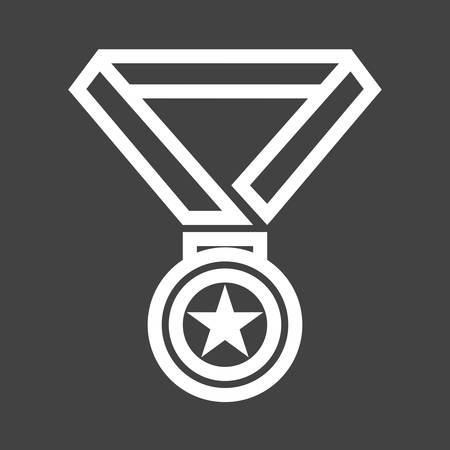 Medal icon Illustration