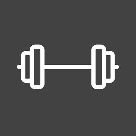 weightlifting icon Illustration