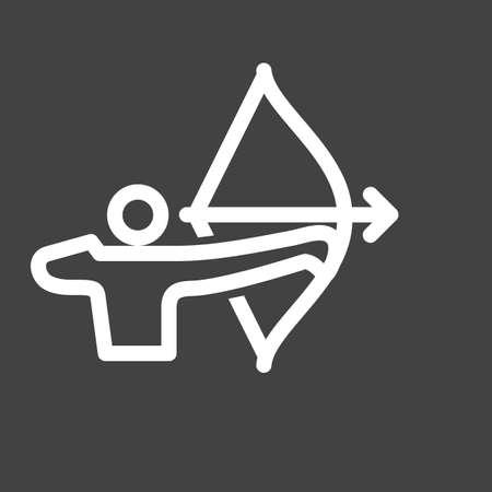 Archer icon Ilustrace