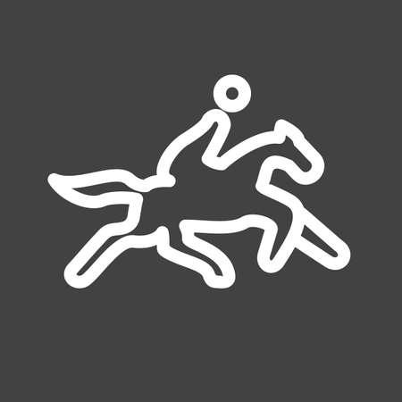 race winner: Horse rider icon