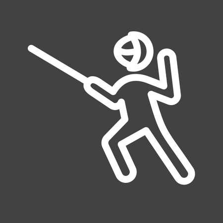 Sword fighting icon