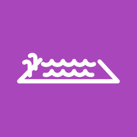 Swimming, pool, water, swim icon vector image. Can also be used for sports, fitness, recreation. Suitable for web apps, mobile apps and print media. Vector