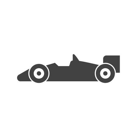 Sports car, car, race, racer, racing car icon vector image. Can also be used for sports, fitness, recreation. Suitable for web apps, mobile apps and print media.