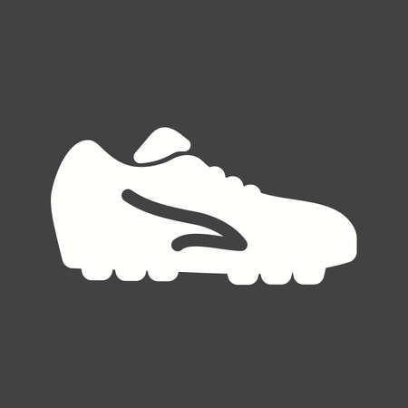 football cleats: Football, shoes, soccer, player, foot wear, sports icon vector image. Can also be used for fitness, recreation. Suitable for web apps, mobile apps and print media.