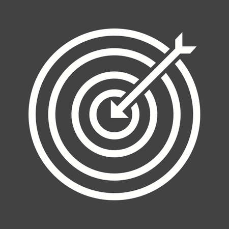 Darts, arrow, archery, dartboard, sports icon vector image. Can also be used for fitness, recreation. Suitable for web apps, mobile apps and print media. Иллюстрация