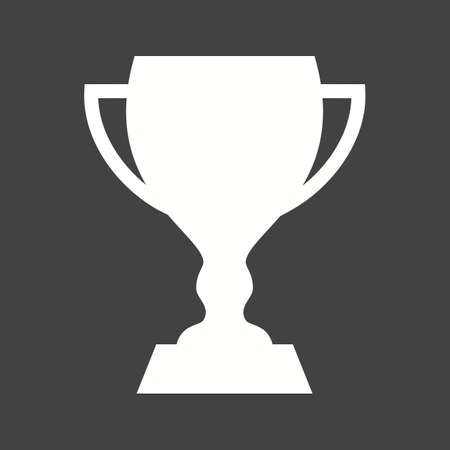 Cup, trophy, award, prize, champion, sports icon vector image. Can also be used for fitness, recreation. Suitable for web apps, mobile apps and print media.