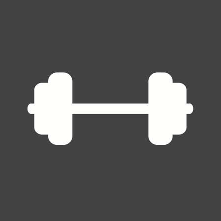 Weights, weightlifting, body building, lifting, sports icon vector image. Can also be used for fitness, recreation. Suitable for web apps, mobile apps and print media. Ilustracja