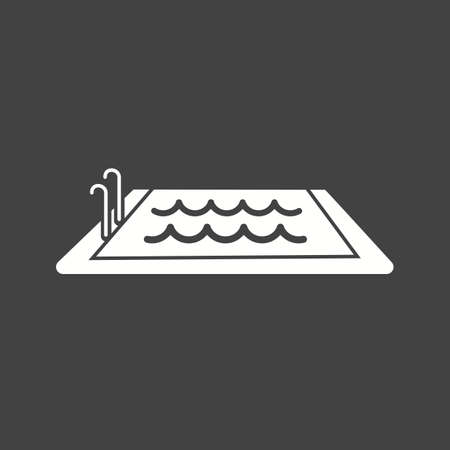 the pool: Swimming, pool, water, swim, sports icon vector image. Can also be used for fitness, recreation. Suitable for web apps, mobile apps and print media.