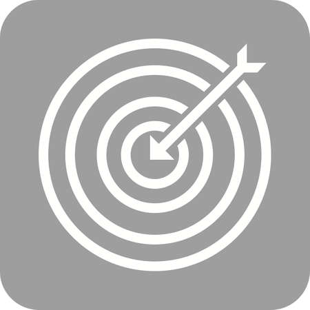 longbow: Darts, arrow, archery, dartboard, sports icon vector image. Can also be used for fitness, recreation. Suitable for web apps, mobile apps and print media. Illustration