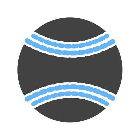 softbol: Bola, b�isbol, softball, �cono del deporte vector de imagen. Tambi�n se puede utilizar para la aptitud, la recreaci�n. Adecuado para aplicaciones web, aplicaciones m�viles y los medios impresos. Vectores