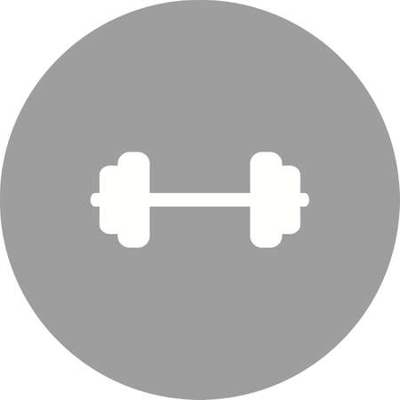 body building: Weights, weightlifting, body building, lifting, sports icon vector image. Can also be used for fitness, recreation. Suitable for web apps, mobile apps and print media. Illustration