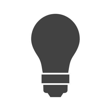 saver bulb: Bombilla, imagen vectorial luz, icono el�ctrica. Tambi�n se puede utilizar para la energ�a y la tecnolog�a. Adecuado para aplicaciones web, aplicaciones m�viles y los medios impresos. Vectores