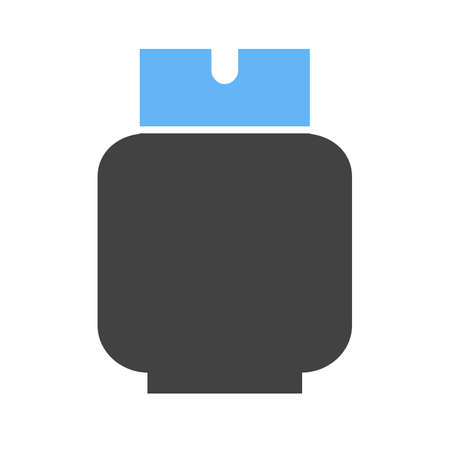 gas cylinder: Gas, gasoline, fuel icon vector image. Can also be used for energy and technology. Suitable for web apps, mobile apps and print media.