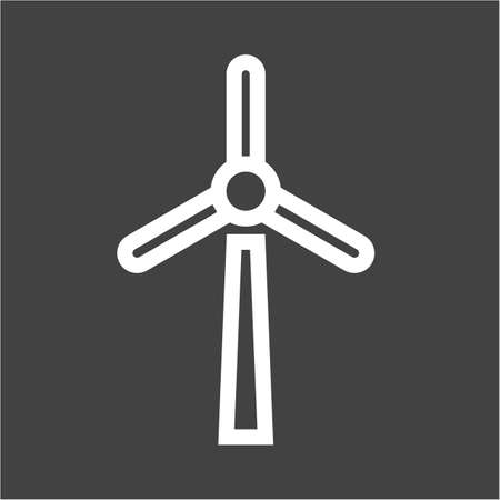 wind mill: Wind mill, wind, energy icon vector image. Can also be used for energy and technology. Suitable for web apps, mobile apps and print media.