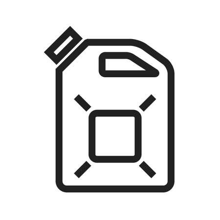 ディーゼルは、オイル、燃料のアイコン ベクトル画像。エネルギーと技術の使用もできます。Web アプリ、携帯アプリ、印刷メディアに適しています  イラスト・ベクター素材