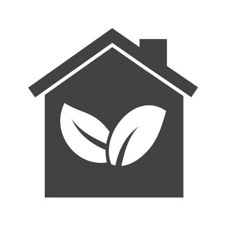 forest conservation: Energy, green house, nature icon vector image. Can also be used for energy and technology. Suitable for web apps, mobile apps and print media.