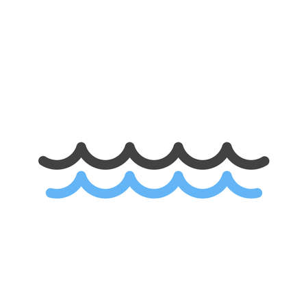 Water, ocean, swimming pool icon vector image. Can also be used for energy and technology. Suitable for web apps, mobile apps and print media.