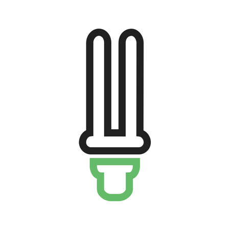 saver: Bulb, energy saver, electric icon vector image. Can also be used for energy and technology. Suitable for web apps, mobile apps and print media.
