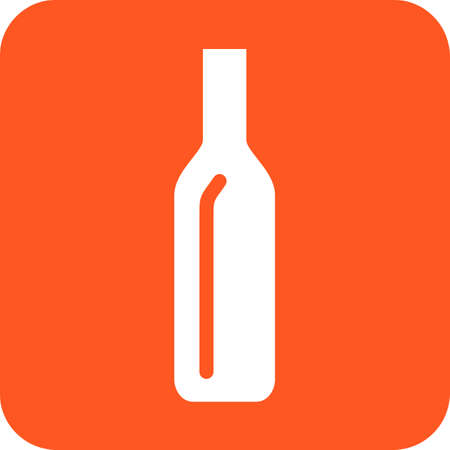 Bottle, water, beer icon vector image. Can also be used for eatables, food and drinks. Suitable for use on web apps, mobile apps and print media Illusztráció