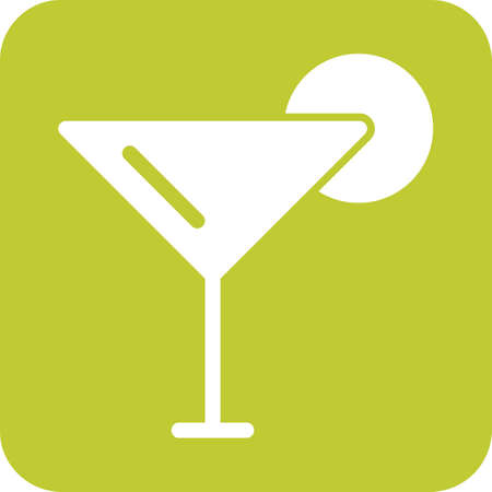Cocktail, ice, beverage icon vector image. Can also be used for eatables, food and drinks. Suitable for use on web apps, mobile apps and print media