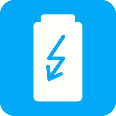 power saving lamp: Electric, charge, storage icon vector image. Can also be used for mobile apps, phone tab bar and settings. Suitable for use on web apps, mobile apps and print media