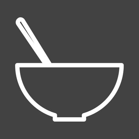 Soup, liquid, drink icon vector image. Can also be used for eatables, food and drinks. Suitable for use on web apps, mobile apps and print media