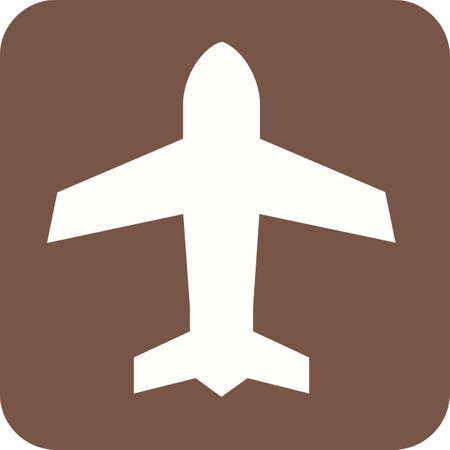 mode: Mode, phone, airplane icon vector image.
