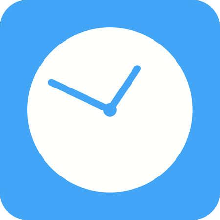 digital clock: Clock, analog, digital icon vector image.